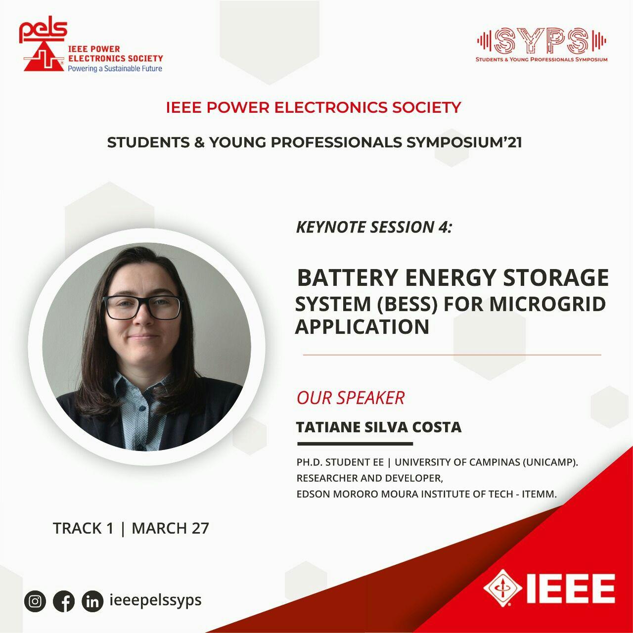 Pesquisadora do ITEMM palestrará em evento internacional sobre BESS e indústria renovável